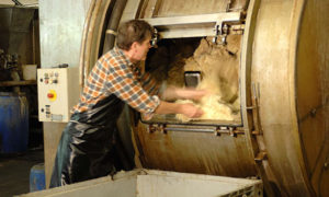 Gärberei - Herstellung Lamfell
