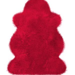 Einzelfell rot